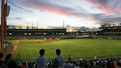 Players can try out for the Rangers at Round Rock's Dell Diamond on July 20.