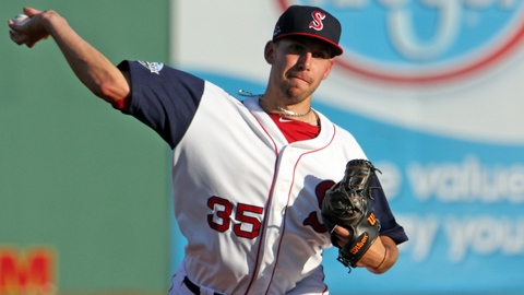 Matt Barnes was promoted to the Carolina League after five professional starts.