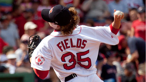 Josh Fields will play for his third organization in three years in 2012.