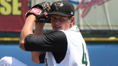 Kyle Crick averaged 10.35 strikeouts per nine innings last season.